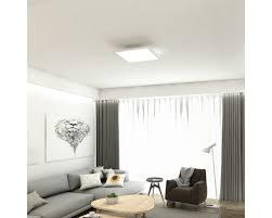 led panel cct dimmbar 18w 1800 lm warmweiß tageslichtweiß hxbxt 48x295x295 mm mit fernbedienung piatto weiß