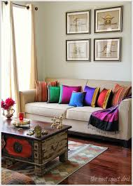 Guledgudda Khana Or Khun Fabric Blouse Pieces Used To Make Colorful Cushions Festive Living Room Decor IndiaIndia