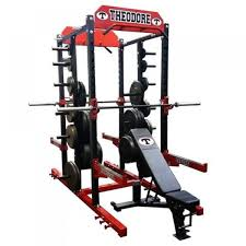 Bodyworx Power Rack Combo With FID Bench U First Fitness Gym In