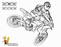 Printables For Toddlers Dirt Bike Coloring Pages Online Free M7pzl