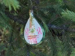 Mandolino Glass Tree Christmas Ornament Musical Instrument Vintage