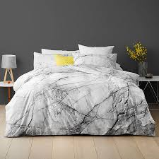 Marble Quilt Cover Set