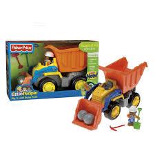 100 Little People Dump Truck FisherPrice Dig N Load Toys Games