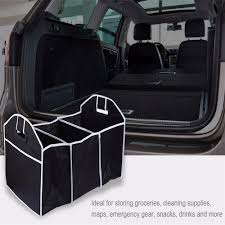 Car Truck Van SUV Storage Basket Trunk Organizer Boot Stuff Food ...
