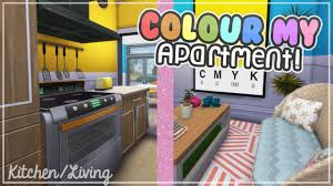 Kitchen Living The Sims 4 Speed Decor Build