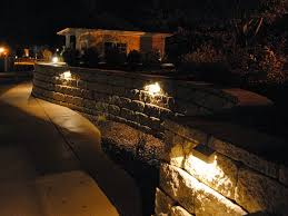 the allan block light up your adding lighting to your