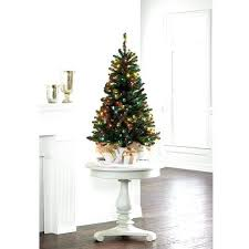 4 Feet Tree Luxurious And Splendid Trees Ft Artificial At With Led Lights Slimline Foot 5 Classic Christmas