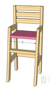 ana white build a doll high chair free and easy diy project