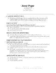 Resume Examples Marketing Summary Manager