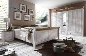 massivholz schlafzimmer komplett set weiß gelaugt