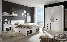 home affaire schlafzimmer set california set 3 tlg klein bett 140 cm 1 nachttisch und 3 trg kleiderschrank kaufen otto