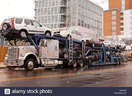 Auto Transport Truck - USA Stock Photo: 52676470 - Alamy
