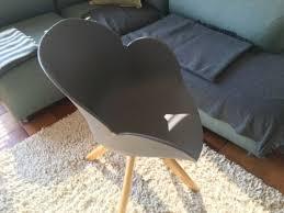 stuhl drehstuhl wäscherei design wie eames hay bolia grau