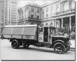 NYC DEPARTMENT OF SANITATION TRUCK 1930S 8x10 SILVER HALIDE PHOTO ...