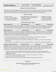 Kitchen Manager Resume Example Free Download Restaurant