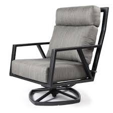 Aris Swivel Rocker Lounge Chair | OW Lee