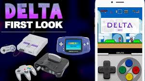 First Look Delta Emulator for iOS GBA N64 SNES All in e