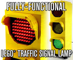 fully functional lego traffic signal l 4 steps with pictures
