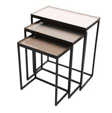 Maryann Nesting Tables, Set Of 3 Nesting Tables Set Of 2 Havsta Gray Josef Albers Tables 4 Pavilion Round Set Zib Gray Piece Oslo Retail 3 Modern Reflections In Blackgold Two Natural Pine And Grey Zoa Nesting Tables Set Of Lack Black White Contemporary Solid Wood Maitland Smith Faux Bamboo
