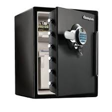Fingerprint Water Resistant Dual Lock With Security Safe