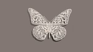 How To Make Paper Cutting Butterfly