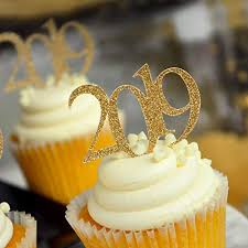 Amazon 2019 Graduation Cupcake Toppers Gold Party Decor 1 Pack Of 12 Handmade