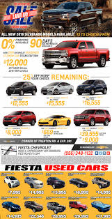 Sales Labor Day, Fiesta Chevrolet, Edinburg, TX Mcallen Tx Cars For Sale Autocom Buick Chevrolet Gmc Dealership Weslaco Used Payne Truck Driving School Tx Fraud And Scam Sightings Locations Semi Trucks For 2009 Freightliner Business Class M2 106 Mcallen 121933008 2019 Ford Mustang Gt In Edinburg Specials Incentives Ram Sterling L7500 5002174678 Equipmenttradercom Cat D7f Dozer Specs Texas 2007 Intertional 4400 How A Plumbers Truck Wound Up Is Hands