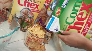 Pumpkin Spice Chex Mix With Candy Corn by Pumpkin Spice Chex Mix Fall Foods U2014 According To D