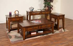 sunny designs mango coffee table set for living room