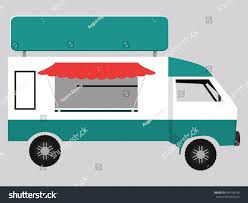 100 Food Delivery Truck Stock Vector Royalty Free 495198190