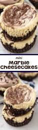 Marbled Pumpkin Cheesecake Brownies by Mini Marble Cheesecakes Crazy For Crust