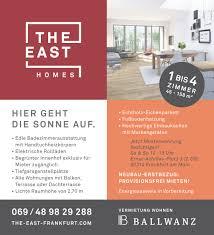 vermietungsbeginn the east homes