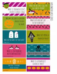 Halloween Brain Teasers by Halloween Jokes For Kids Printable Halloween Lunch Box Jokes