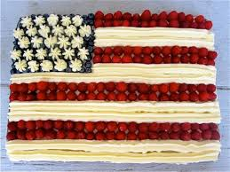 Pardon My Crumbs The Perfect 4th of July Dessert A Flag Cake
