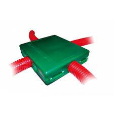 coffret electrique exterieur etanche boite de dérivation à enterrer 6 sorties 66400 système easy connect
