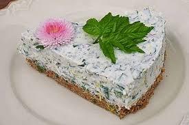 kräuter frischkäse torte
