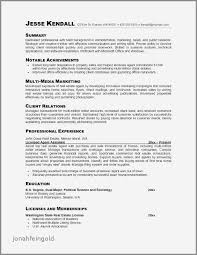 Management Skills For Resume Luxury Examples Of Fresh Professional
