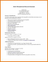 resume objectives for receptionist top 8 receptionist