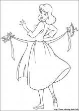 Cinderella Coloring Pages On Book