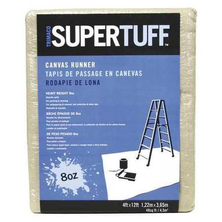 Trimaco Super Tuff Cotton Drop Cloth - 4' x 12'