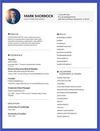 Professional Resume Template 50 Most Editable Templates For Jobseekers 800 X 1036