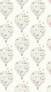 Floral Hot Air Balloon iPhone Wallpaper Floral Wallpapers