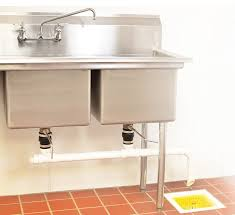small safety basket domed 7 inch commercial floor sink