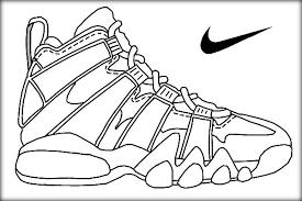Nike Basketball Jordan Shoe Printing Sheets