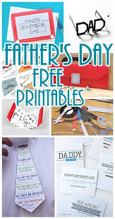 DIY Fathers Day Cards FREE Printables