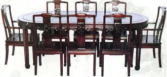 Adorable Rosewood Chinese Style Dining Table With 8 Chairs On Oriental Dinning Plan 11