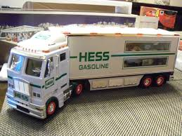 2003 Hess Toy Truck And Race Cars | Hess Trucks By The Year Guide ... Hess Toy Fire Truck 2015 And Ladder Rescue On Sale Amazoncom 2013 Tractor Toys Games 2000 Mib Ebay Miniature Hess First In Original Unopened Box New 2010 Mini 18 Wheel 13th The Series Value Of Trucks Books Price Guides 1999 And Space Shuttle With Sallite 1980 Traing Van 1982 2011 Flat Bed Race Car Lights Sounds Toys Values Descriptions 2017 Dump Loader