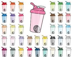 43 Doodle Bottle Shaker Clipart Personal And Comercial Use