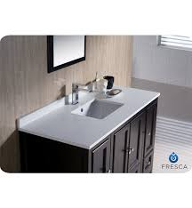 Double Sink Vanity Top 48 by Fresca Oxford 54