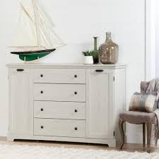 South Shore Furniture Dressers by South Shore Avilla 4 Drawer Winter Oak Dresser 10244 The Home Depot